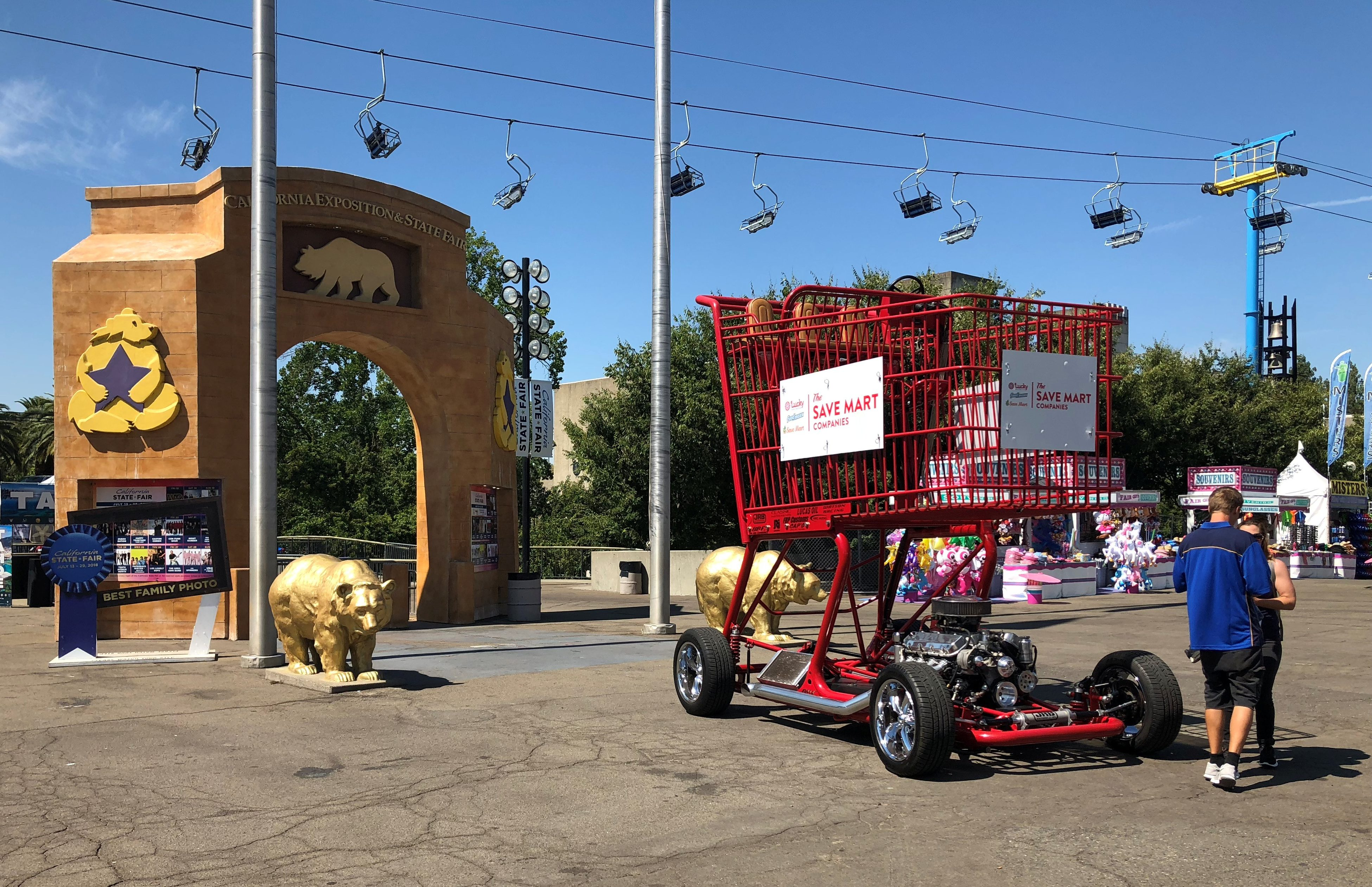 Big Red's Debut at the California State Fair - The Save Mart